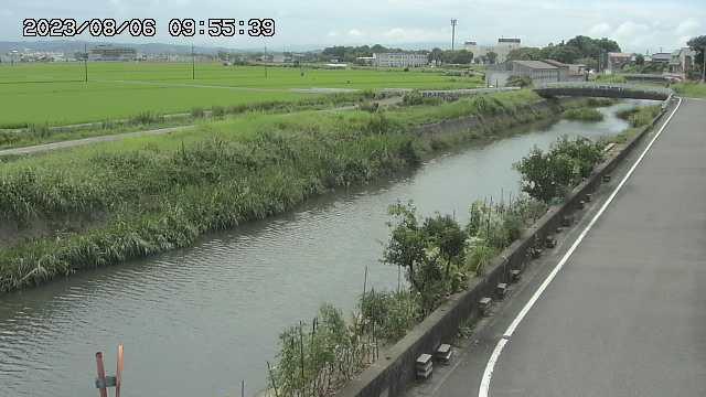 写真:家下川ライブカメラで撮影(10分おきに更新中)